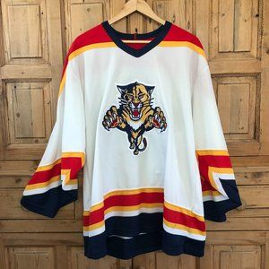 Vintage NHL Florida Panthers Jersey XL